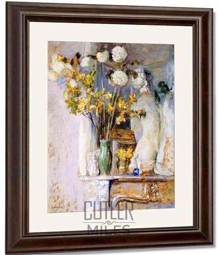 Guilder Roses And The Venus De Milo By Edouard Vuillard