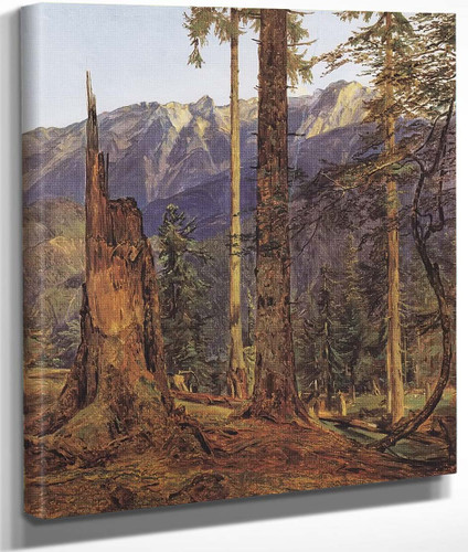 Hollengebirge At Ischl By Ferdinand Georg Waldmüller Austrian