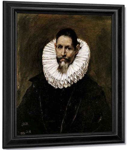 Jeronimo De Cevallos By El Greco By El Greco