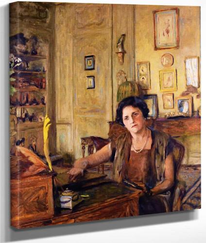 La Comtesse Raoul De Ricci By Edouard Vuillard