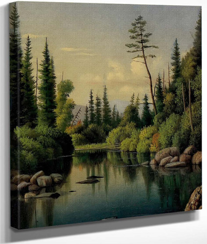 Landscape By Levi Wells Prentice By Levi Wells Prentice
