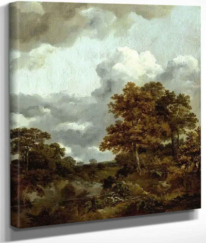 Landscape With A Pool By Thomas Gainsborough By Thomas Gainsborough