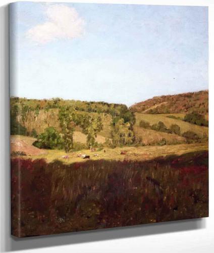 Landscape By Edward Potthast By Edward Potthast
