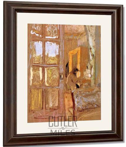Madame Vuillard In An Interior By Edouard Vuillard