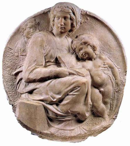 Madonna By Michelangelo Buonarroti By Michelangelo Buonarroti