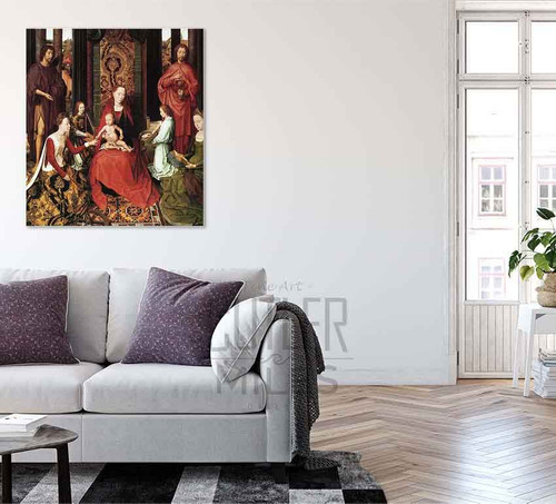 Marriage Of St. Catherine By Hans Memling