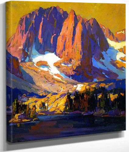 Mount Alice At Sunset By Franz Bischoff By Franz Bischoff