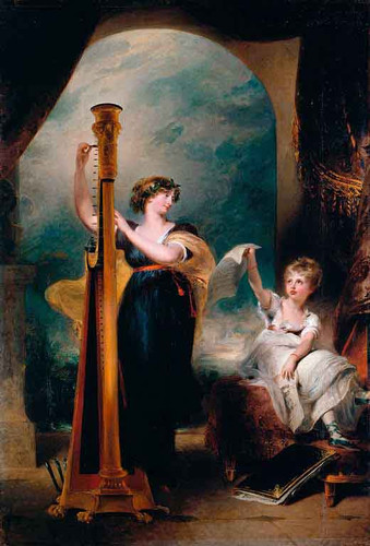 Caroline, Princess Of Wales And Princess Charlotte By Sir Thomas Lawrence