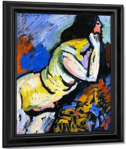 Nude I By Alexei Jawlensky By Alexei Jawlensky