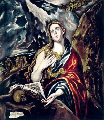 Penitent Magdalen By El Greco By El Greco