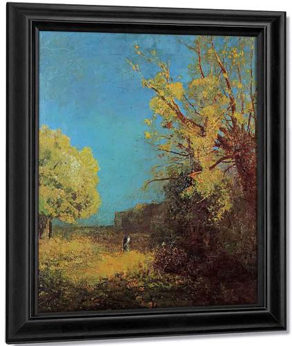 Peyrelebade Landscape By Odilon Redon By Odilon Redon