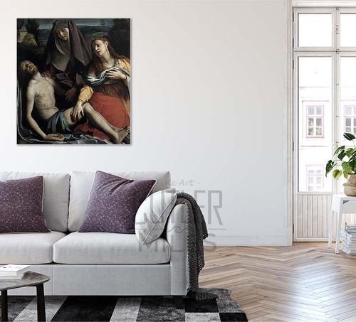Pietà By Agnolo Bronzinoitalian,