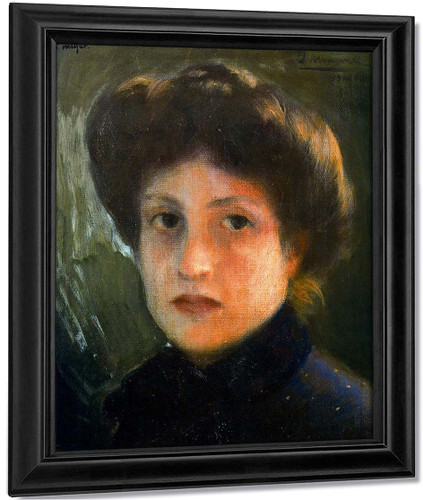 Retrato De Josefina Lopez By Jose Mongrell Torrent