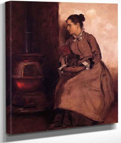 Ruth By Eastman Johnson By Eastman Johnson