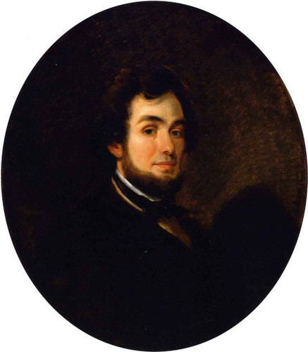 Self Portrait By Alfred Jacob Miller