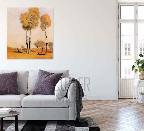 Spanish Landscape By Ferdinand Hodler By Ferdinand Hodler