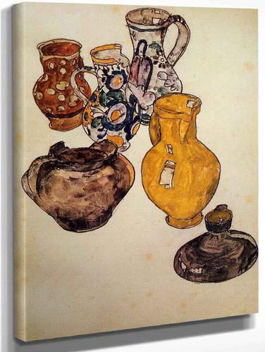 Ceramics By Egon Schiele