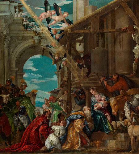 The Adoration Of The Kings By Paolo Veronese