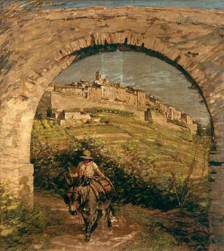 The Aqueduct By Henry La Thangue