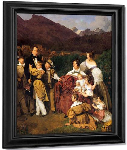 The Eltz Family By Ferdinand Georg Waldmüller Austrian