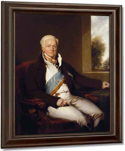 Charles Augustus, Prince Hardenberg  By Sir Thomas Lawrence