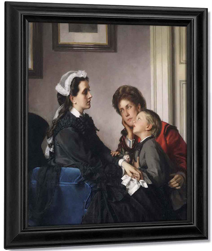 The Governess By Alexandre Cabanel
