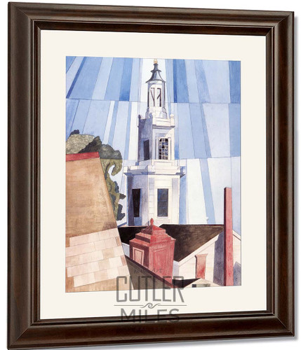 The Tower By Charles Demuth By Charles Demuth