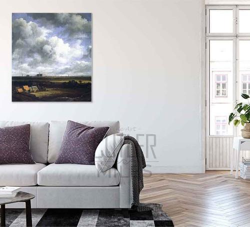 View Of Haarlem By Jacob Van Ruisdael