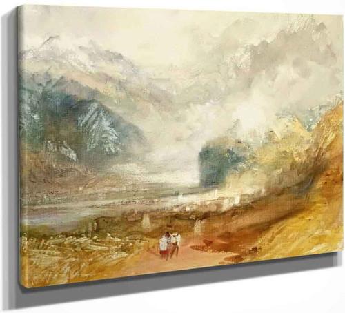 Aosta By Joseph Mallord William Turner