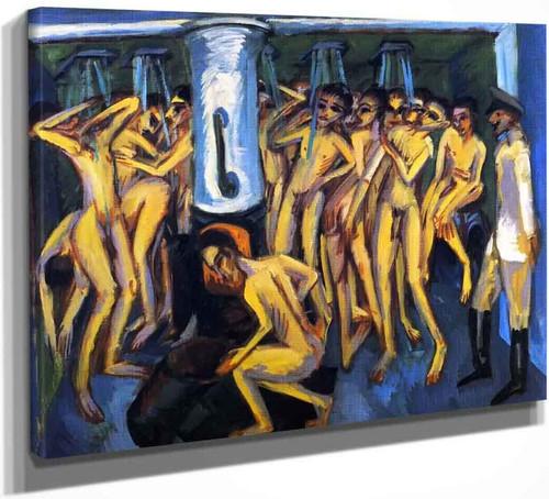 Artillerymen By Ernst Ludwig Kirchner By Ernst Ludwig Kirchner