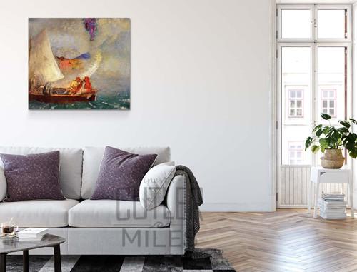 Boat By Odilon Redon
