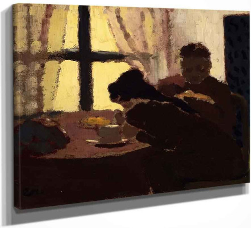 Breakfast By The Window By Edouard Vuillard