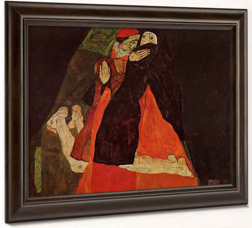 Cardinal And Nun By Egon Schiele