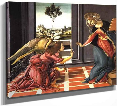Cestello Annunciation By Sandro Botticelli