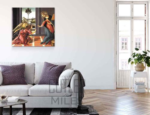 Cestello Annunciation By Sandro Botticelli Art Reproduction