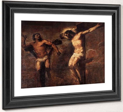 Christ And The Good Thief By Titian Art Reproduction