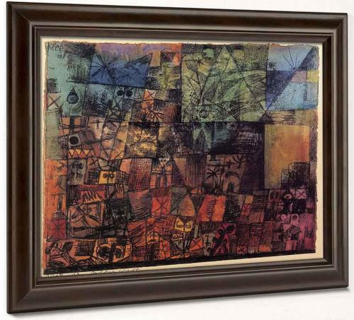 City Of Tombs By Paul Klee