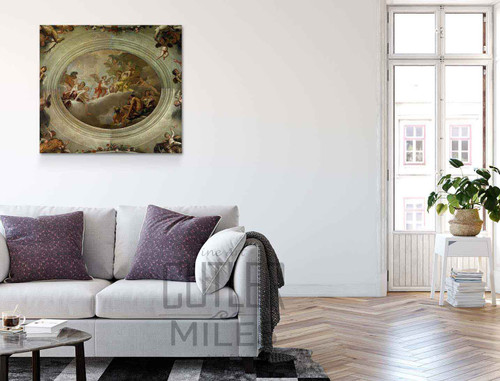 Cupid Before Jupiter By Sebastiano Ricci Art Reproduction
