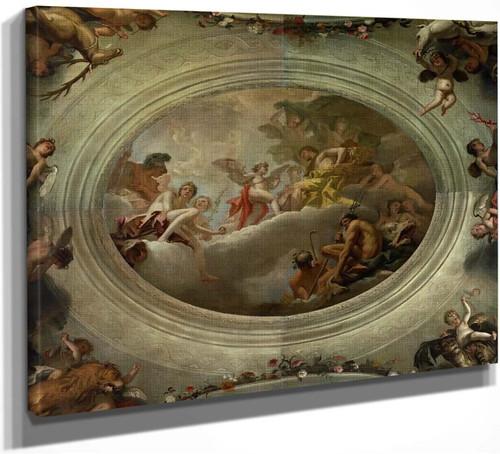 Cupid Before Jupiter By Sebastiano Ricci