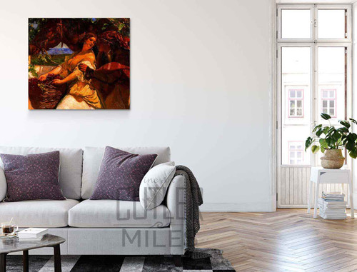El Beso By Jose Mongrell Torrent Art Reproduction