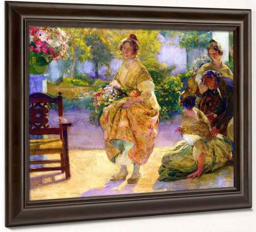 Floristas Valencianas By Jose Mongrell Torrent