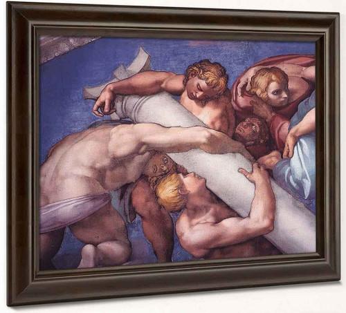 Last Judgment 14 By Michelangelo Buonarroti By Michelangelo Buonarroti