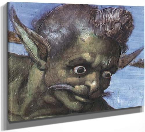 Last Judgment 212 By Michelangelo Buonarroti By Michelangelo Buonarroti