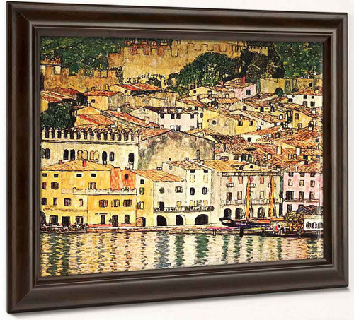 Malcesine On Lake Garda By Gustav Klimt