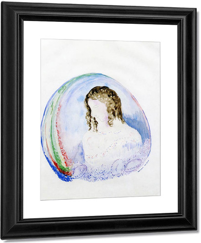 Child In A Sphere Of Light By Odilon Redon