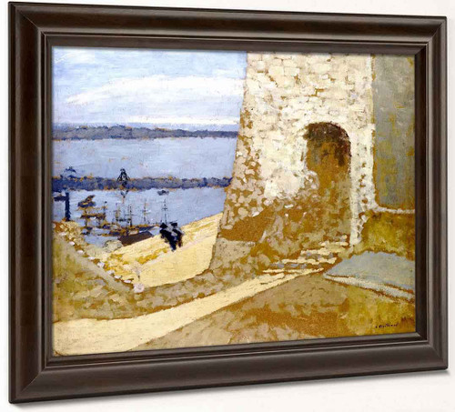 Mont Chevallier At Cannes By Edouard Vuillard