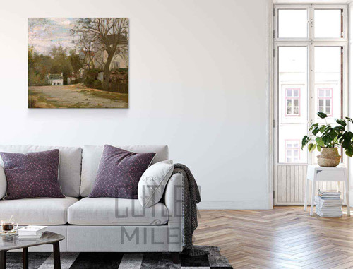 Montmartre By Stanislas Lepine