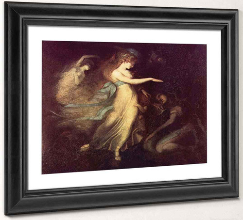 Prince Arthur And The Fairy Queen By Henry Fuseli By Henry Fuseli