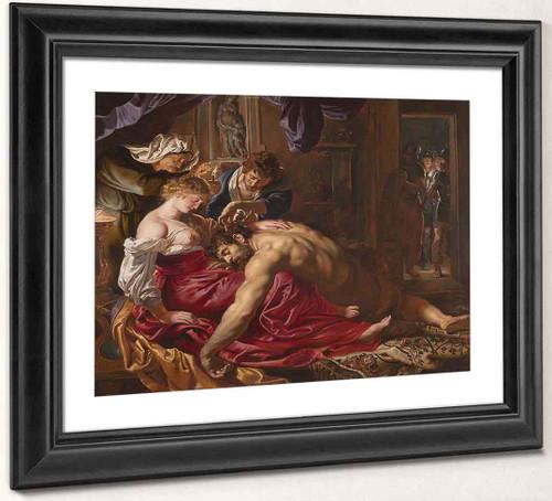 Samson And Delilah By Peter Paul Rubens