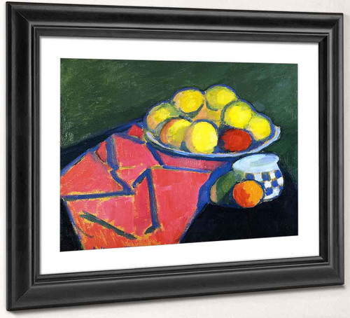 Still Life With Apples2 By Alexei Jawlensky By Alexei Jawlensky